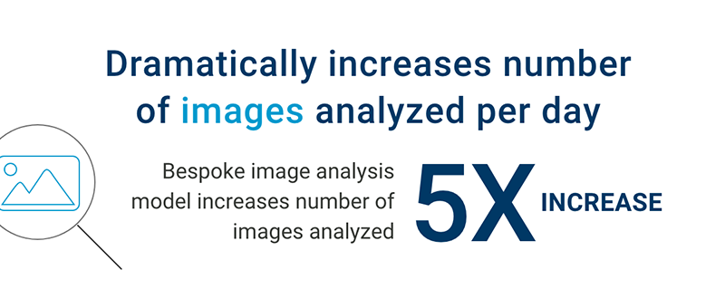 Dramatically increases number of images analyzed per day